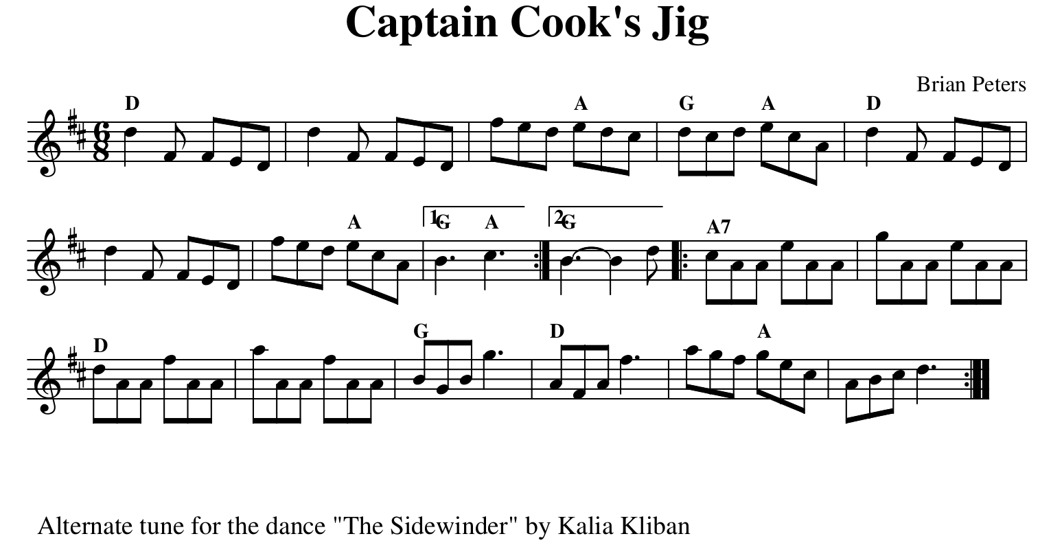 Captain Cook's Jig