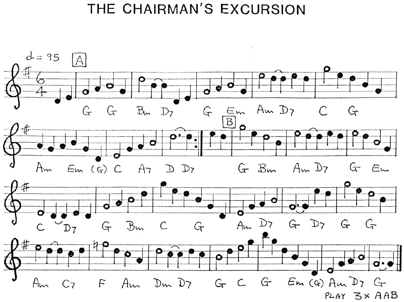Chairman's Excursion, The