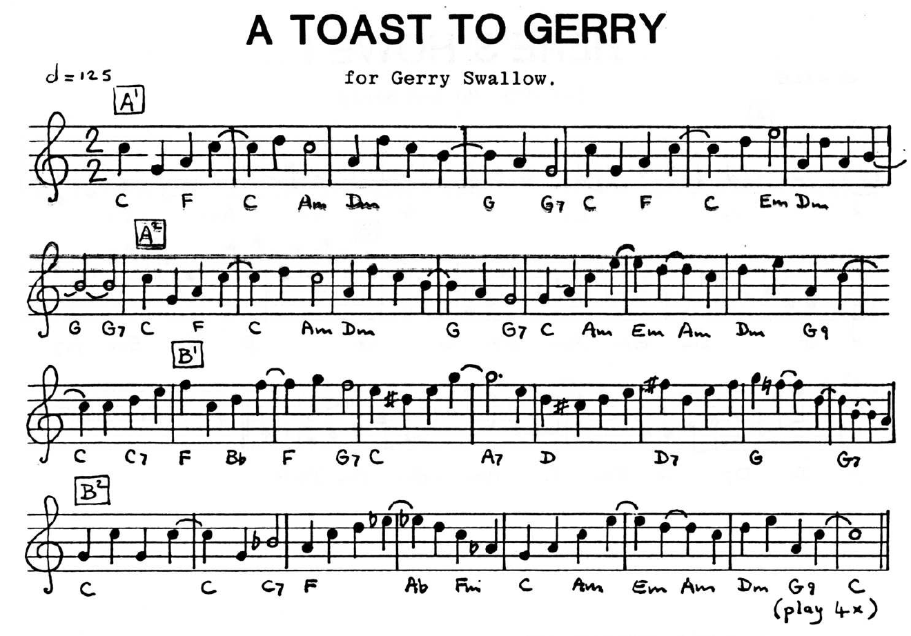 Toast To Gerry, A