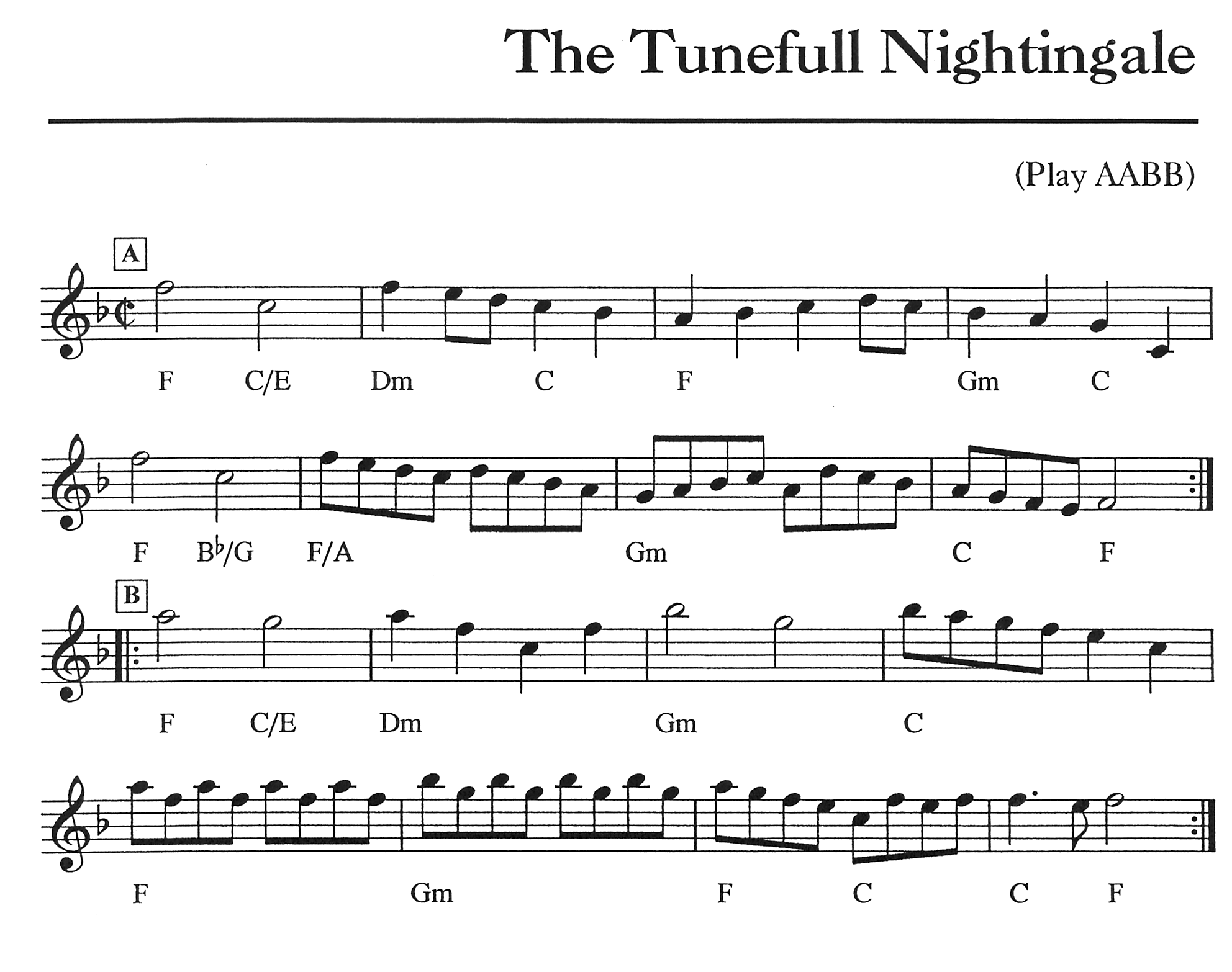 The Tuneful Nightingale